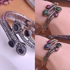 Bohemian Style Vintage Alloy Diamond Bracelet Fashion Cuff Bangle Jewelry New#