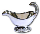 CHRISTOFLE Silver Plate - Malmaison Eagle Handle Design Gravy Boat