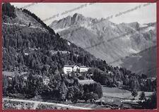 BRESCIA PONTE DI LEGNO 40 HOTEL ALBERGO Cartolina viaggiata 1959