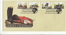 AUSTRALIA : PICTORIAL   POSTMARK GAWLER THREE DAY EVENT 1986 horses show jump D