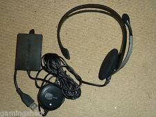 SONY PLAYSTATION 2 3 PS2 PS3 oficial USB Headset Micrófono! nuevo! con Cable Logitech