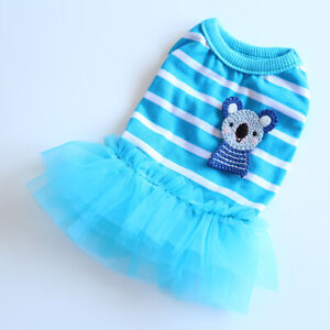 Tiny Yorkie Dress Dog Puppy Teacup Pet Clothes Size XXS XS for Maltese Chihuahua