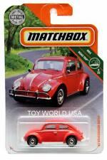 2019 Matchbox #12 MBX Road Trip '62 Volkswagen Beetle red