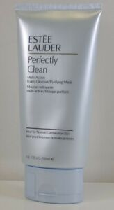Estee Lauder PERFECTLY CLEAN Multi-Action Foam Cleanser/Purifying Mask 5.Oz -NEW