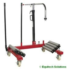 Sealey W1200T Wheel Removal Lifting Trolley 1200kg Capacity Tyre HGV Commercial
