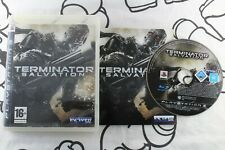 PLAY STATION 3 PS3 TERMINATOR SALVATION MUY BUEN ESTADO PAL ESPAÑA