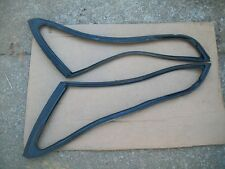 NOS MoPar 1964 1965 Plymouth Dodge B Body Vent Wing Weatherstrip Seals L&R Pair