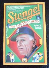 Stengel : His Life and Times by Robert W. Creamer (1985, Paperback)