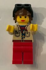 LEGO Pippin Reed Female Aviator Orient Expedition Adventurers MiniFigure # 7419