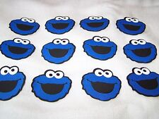 "Cookie Monster die cut 2"" layered party favors in sets of 12 