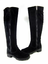 7 FOR ALL MANKIND WOMEN'S GASTON KNEE-HIGH FASHION BOOT BLACK SUEDE US SIZE 6 M