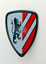 *Playmobil* Wappenschild Löwen Motiv rot weiß Schild *Ritterburg 3667 7124* D