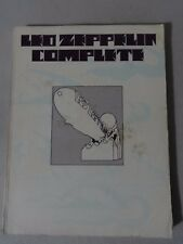 1973 Led Zeppelin Complete 1st Print Guitar Tab Book 40 Songs Good Used Cond