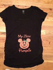 Mickey Pumpkin Inspired Halloween Maternity T-shirt