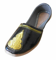 Men Shoes Indian Handmade Jutties Designer Leather Loafers Mojari UK 7.5 EU 41