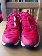 Jordan kids shoes red size 35.5,uk size 3.