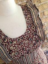 Cotton Blend Plus Size Maxi Vintage Dresses for Women