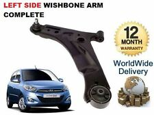 Para Hyundai I10 2008 -- & gt lado izquierdo de suspensión inferior Wishbone Brazo Con Rótula