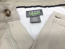 IZOD XFG Men's Golf Shorts Khaki 34