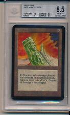 ALPHA Jade Monolith 93/94 Old School GRADED BGS 8.5 Near Mint Magic MTG