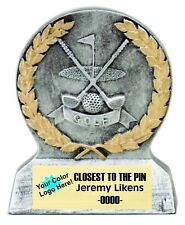 Golf Or Closest To Pin Economy Resin Golf Award Free Engraving M-Rs1071Sg