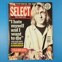 Select Magazine June 1994 ~ Kurt Cobain, Nirvana, Bjork, Erasure