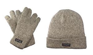 3M Thinsulate® Shetland Mütze Handschuhe echte Wolle mit Thermofutter Lady Men