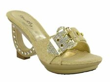 Women's Evening Slip On and Mules Shoes