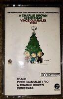 A CHARLIE BROWN CHRISTMAS VINCE GUARALDI TRIO ORIGINAL CASSETTE TAPE SOUNDTRACK