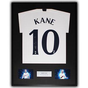 Harry Kane Signed Tottenham Framed Shirt - RARE 10 COA Spurs Ultra Slim Display