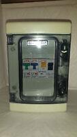 Garage Consumer unit IP55 63amp 30ma RCD + 6+20amp or 6+32amp type b MCB's