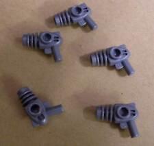 5 Lego Ray Gun Blaster Pistolen Waffen Laser silber Faser Weltraumpistole Neu