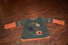 """I1- Fisher Price """"Bear's Camp Out"""" Shirt Size 18 Months"""