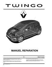 manuel atelier entretien réparation technique maintenance Renault Twingo 2 - Fr