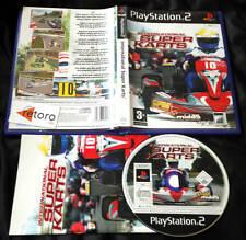 INTERNATIONAL SUPER KARTS PlayStation 2 PS2 Pal España Completo Buen Estado