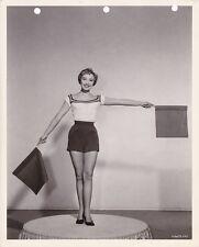JANE POWELL Original Vintage 1955 HIT THE DECK MGM Leggy Studio Portrait Photo