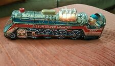 RARE Vintage Battery Operated Piston Silver Mountain 4067 Train Engine WORKS