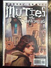 Muties The Changeling #1 VF+ 1st Print Free UK P&P Marvel Comics