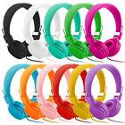 11 Color Foldable Over-Ear Stereo Headphone Earphone Headset iPhone MP3 Tablet