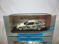 MINICHAMPS BMW 318i E36 ADAC TW CUP 1984 - HEGER 1:43 - NICE CONDITION IN BOX