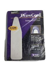 New Standard Ironing Board Cover Silver Gray 100% Cotton Drawcord Binding Nos