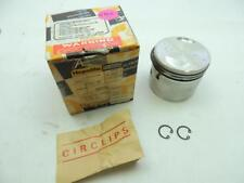 19145 NOS R/H Hepolite Piston With Circlips Rings .040 Norton W6102