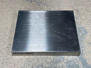 "READ New Mettler Toledo Weighing Platform Load Plate 15.7"" x 19.7"" x 2.35"""