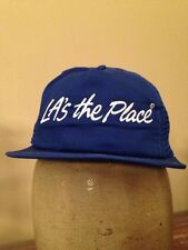 Vintage 1990s Los Angeles LA's The Place Mesh Snapback Trucker Hat California
