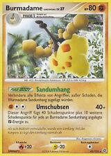 POKEMON, Burmadame, Diamant & Perl, Rätselhafte Wunder, 42/132, Deutsch, NM