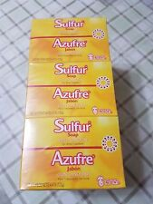 12 Bars Sulfur Soap with Lanolin for Acne Treatment  Net Wt 4.4 oz each Grisi