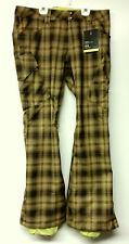 BURTON Women's GLORIA Snow Pants - Sycamore Burnout - Large - NWT