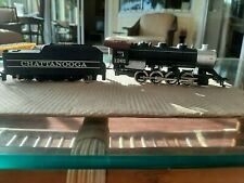 HO scale Tyco 1261 ENGINE W/ CHATTANOOGA TENDER Nice