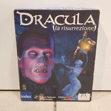 Dracula la Risurrezione Big Box Versione Italiana GIOCO PC