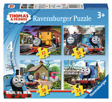 CHILDRENS THOMAS & FRIENDS 4 IN A BOX JIGSAW PUZZLES RAVENSBURGER